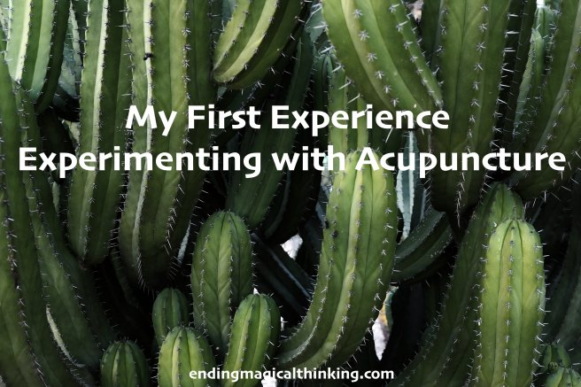 My First Experience Experimenting with Acupuncture